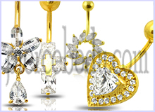 14K Belly Rings