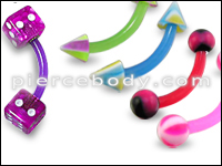 UV Curved Barbells