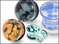 Pyrex Glass Plugs