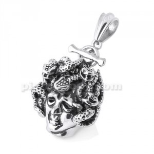 Stainless Steel Snake Women Pendant