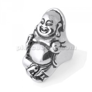 Laughing Buddha Finger Ring