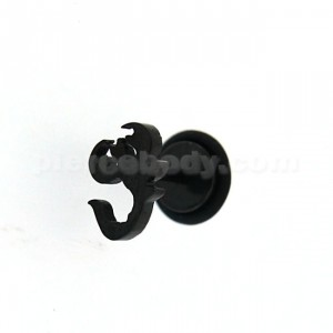 Black line Casting Scorpion Invisible Fake Ear Plug