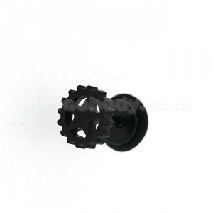 Black line Casting Star Gear Invisible Fake Ear Plug