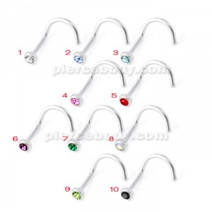 G23 Grade Titanium Nose Screw