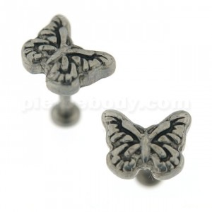 Casting Classic Butterfly Madonna Labret Lip Piercing