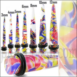 UV Marble Straight Ear Expander