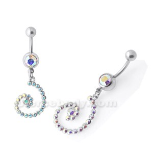 Fancy Jeweled Navel belly Ring