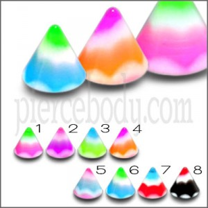 UV Acrylic Reeiple Shade Fancy Cones