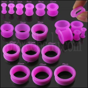 Purple Silicone Ear Plug