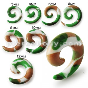 Fancy Spiral Ear Stretcher