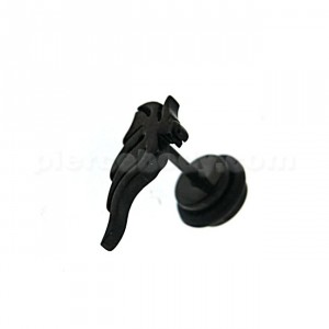 Black line Tribal Casting Invisible Fake Ear Plug