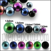 G23 Grade Anodised Titanium Ball Accessories