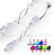 Jeweled Belly Ring