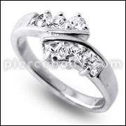 Gift Ring Fashion Exquisite Ring Alloy Lovely  Finger Ring