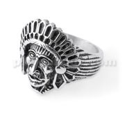 Native American Indian Chief Finger Ring