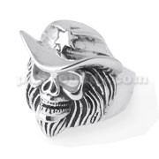 Pirates Skull finger ring