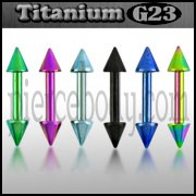 Titanium Anodised Eyebrow Barbell