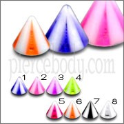 UV Reflective Eyebrow Lip Chin Cones