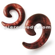 Cool Acrylic Spiral Twist Flesh Tunnel Expander Taper Ear Stretcher Stud