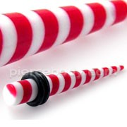 Red Stripe Straight Ear Expander