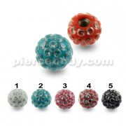 Multi Jeweled Genuine CZ Balls