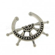 Ship Half Wheel Non Piercing Fake Clip on Septum Ring